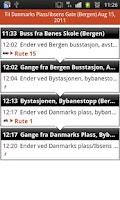 Screenshot of Skyss reiseplanlegger