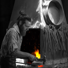 Blacksmith  by Murray howard-Brooks - People Professional People