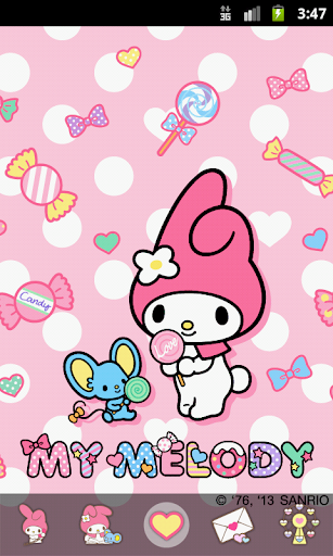 My Melody Sweet Candy Theme