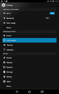 Flow Theme for CM10- screenshot thumbnail