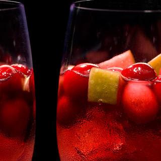 Spiced Cranberry Sangría.