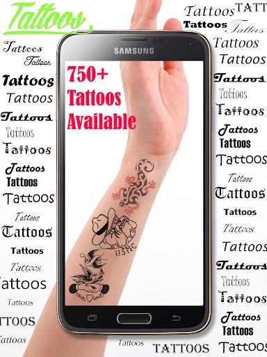 Best Tattoos Cam Editor