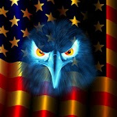 USA Flag Eagle Live Wallpaper