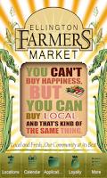 Screenshot of Ellington Farmers' Market