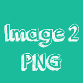 Image to PNG