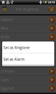 HTC One Ringtones - screenshot thumbnail