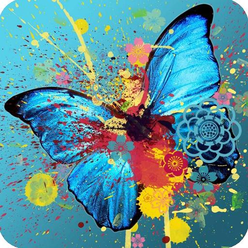 3D Butterfly LOGO-APP點子