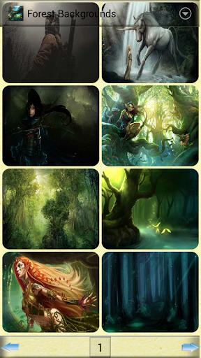 卡通原始森林背景圖片圖片素材下載-動物/植物/自然-圖圖網-tutu001.com