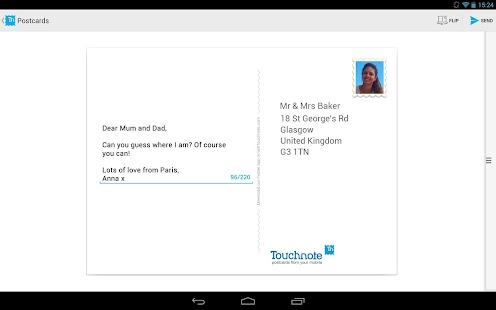 Touchnote Postcards - screenshot thumbnail