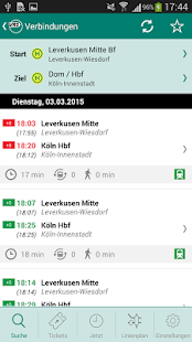 VRS Auskunft - screenshot thumbnail