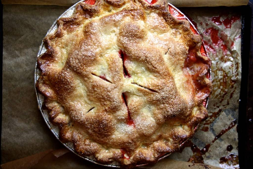 Gluten-Free Strawberry Ginger Pie Recipe