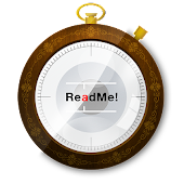 ReadMe! eBook reader w/ Spritz