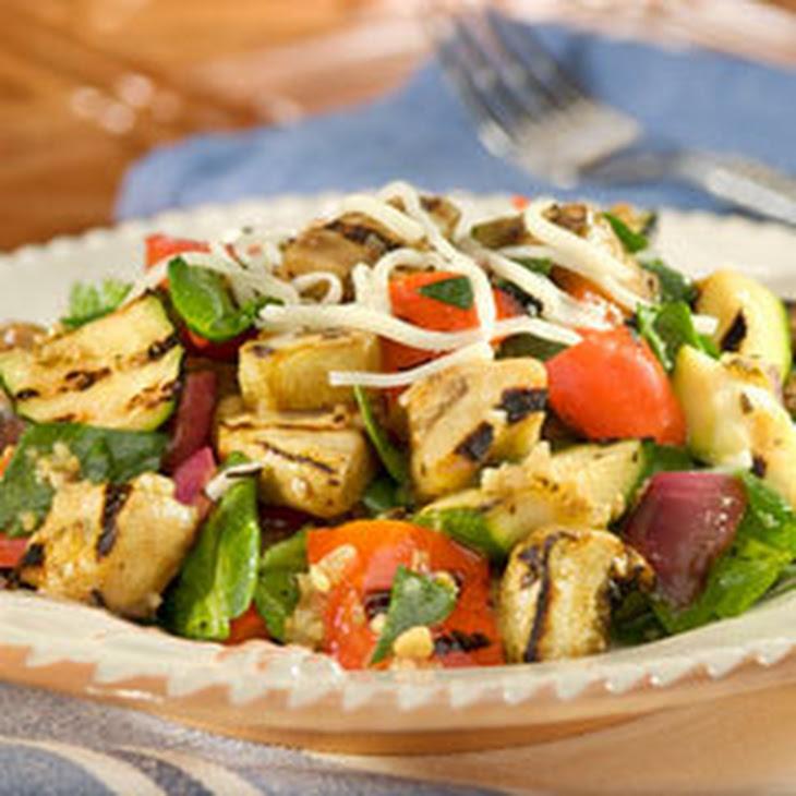 Mediterranean Chopped Ratatouille Salad Recipe