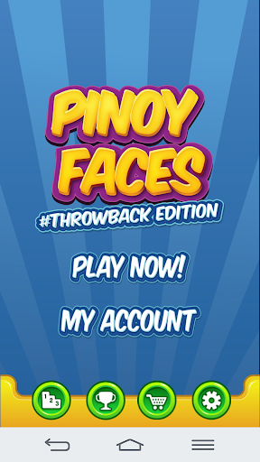 Pinoy Faces Throwback Edition