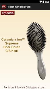 Hair Brush Guide - screenshot thumbnail