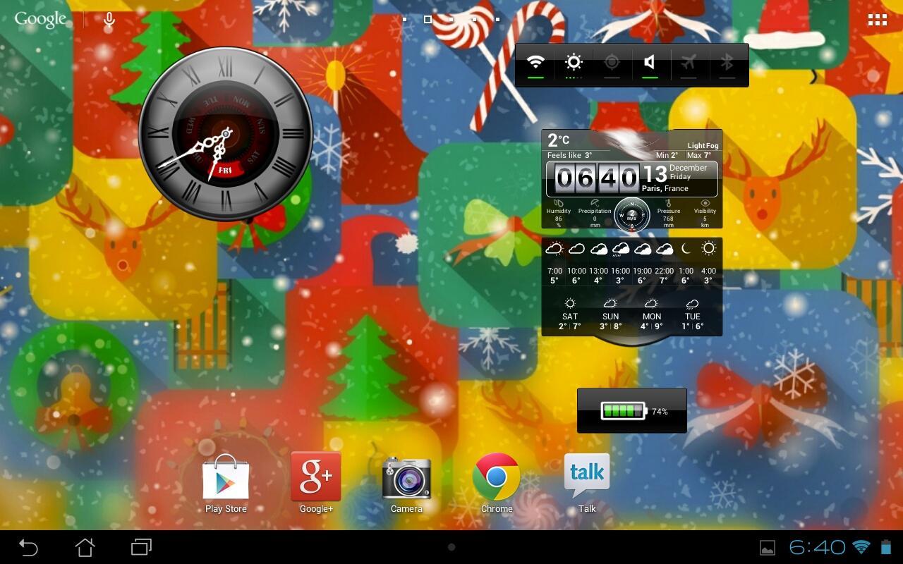 Widgets by Pimp Your Screen - screenshot