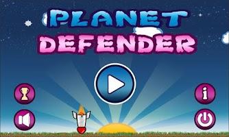Screenshot of Planet Defender