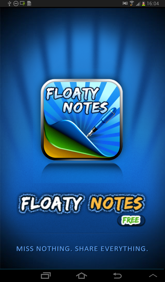Floaty Notes Free: Share Notes - screenshot