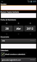 Screenshot of Cita Previa InterSAS