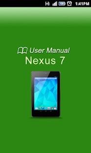 Nexus 7 Maunal