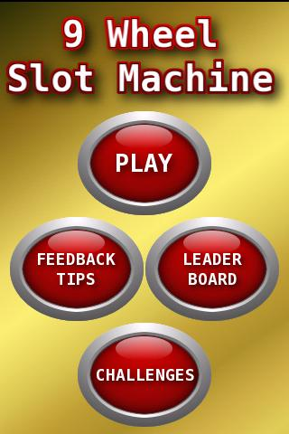 9 WHEEL SLOT MACHINE - screenshot