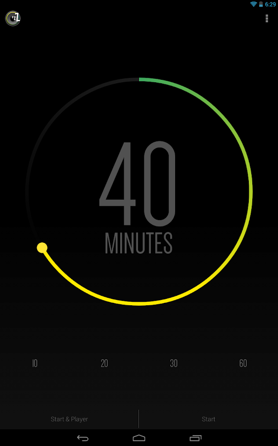 Sleep Timer (Turn music off) - screenshot