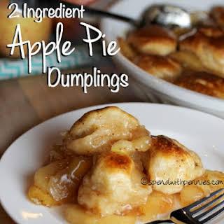 Apple Pie Dumplings! (2 Ingredients!).