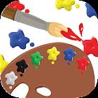 色で遊ぼう! - 遊びながら色を学べる子供向け知育アプリ icon