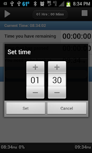 Lunch Time Timer+LiveView - screenshot thumbnail