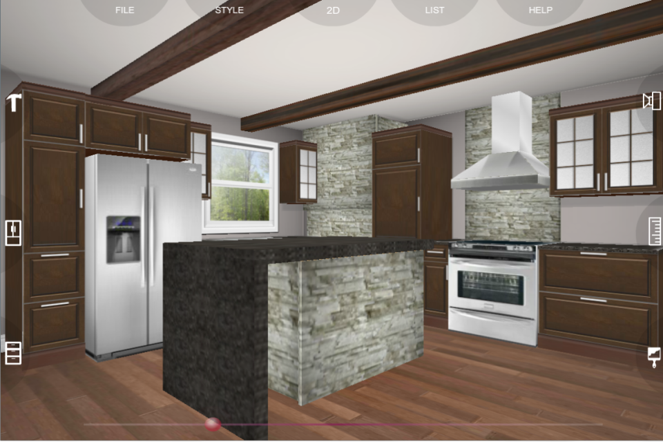 2D Top View Design. Kitchen Planning photo - 7