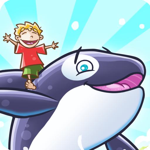 Free Whale - 速いの魚のキャリア障害物をジャンプ 休閒 App LOGO-硬是要APP