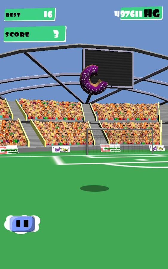 Juggle Soccer- screenshot