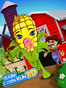 Baby Corn Run 3D Farm Race