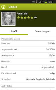 mitfahrgelegenheit.ch - screenshot thumbnail