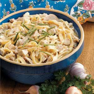 Chicken with Homemade Noodles