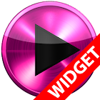 Poweramp skin widget PINK META icon