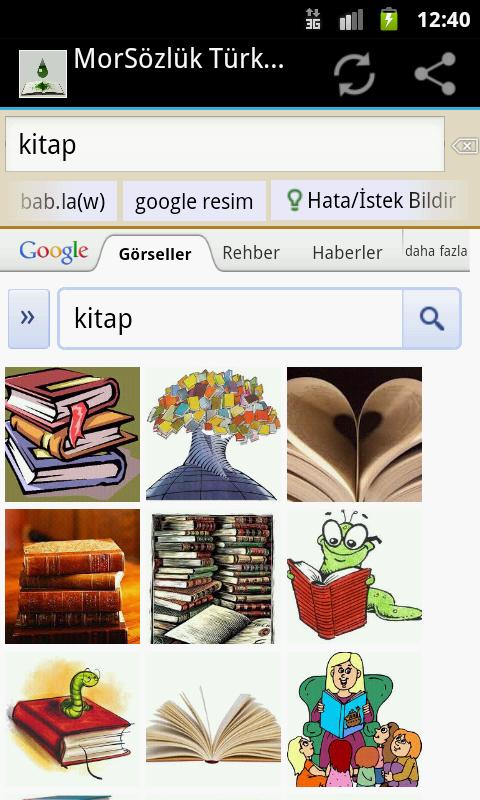 Mor German-Turkish Dictionary - screenshot