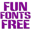 Fonts Fun for Flipfont® free icon
