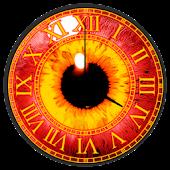 Sharingan Clock Widget