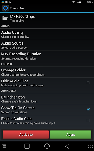【免費音樂App】Spyrec Pro-APP點子