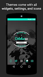 Themer: Launcher, HD Wallpaper Screenshot 2