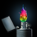 Colorful Fire icon
