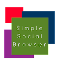 Simple Social Browser icon