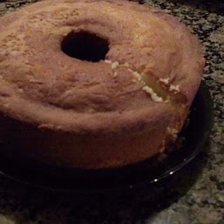 Classic 7 UP Pound Cake.
