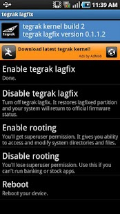 Tegrak Kernel+ Donation- screenshot thumbnail