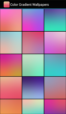Color Gradient Wallpapers - screenshot