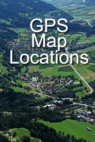 GPS Map Locations