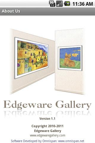 Edgeware Gallery - screenshot