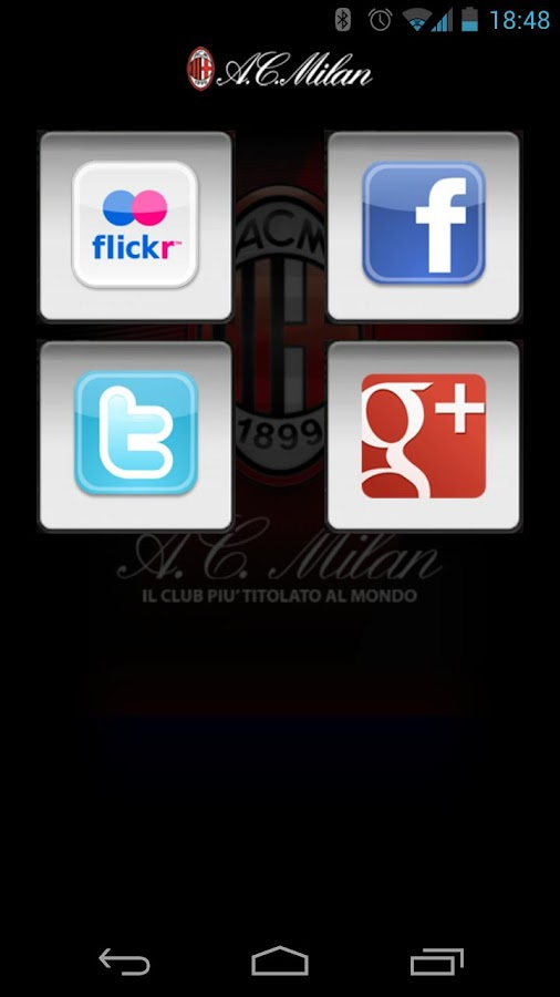 A.C. Milan - screenshot