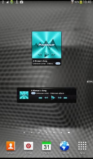 【免費音樂App】Poweramp widg TURQUOISE PLATIN-APP點子